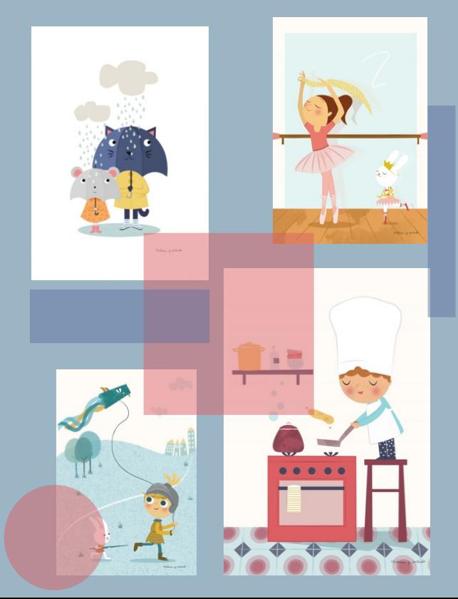 Nuevas l minas para cuadros infantiles decopeques - Cuadros para habitaciones infantiles ...