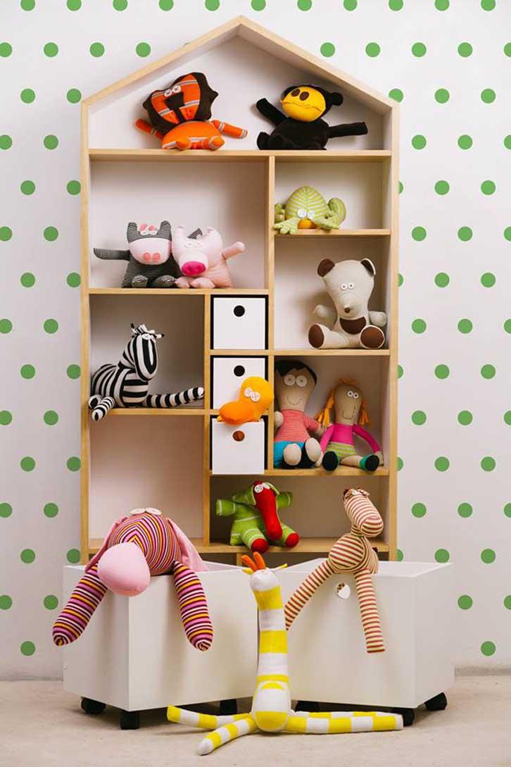 Muebles de dise o para ni os con toques divertidos for Decoracion de espacios para ninos
