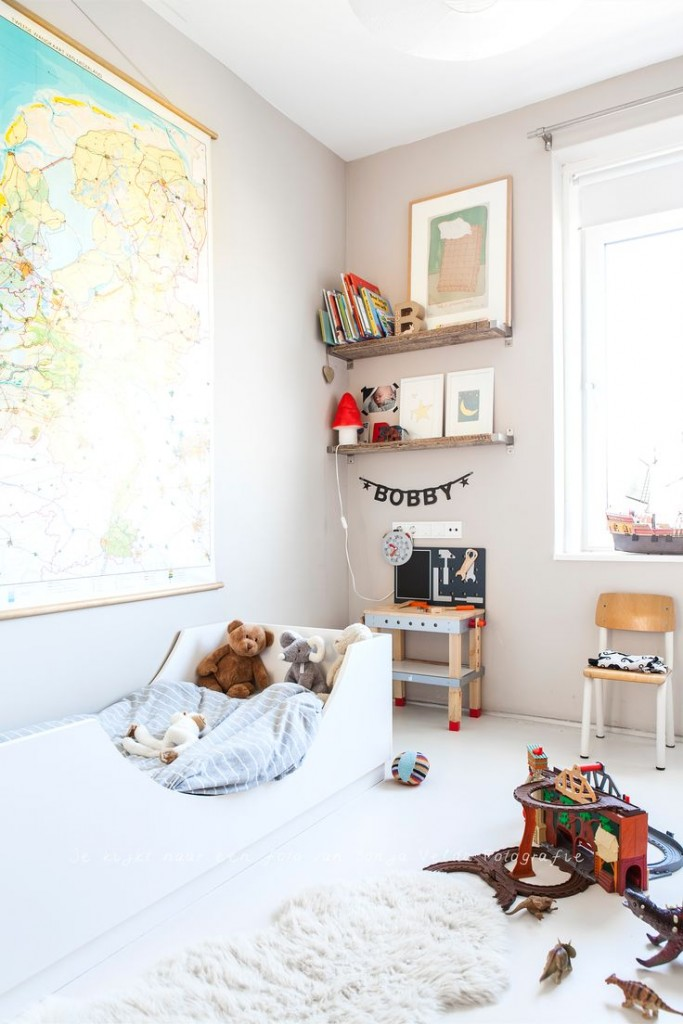 4 habitaciones infantiles originales de revista for Modelos de habitaciones infantiles