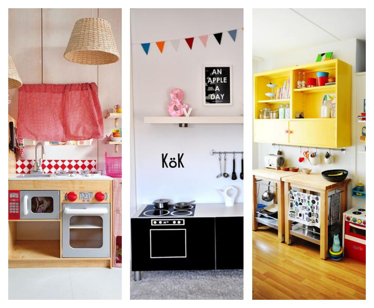 3 Cocinas de juguete caseras y bonitas