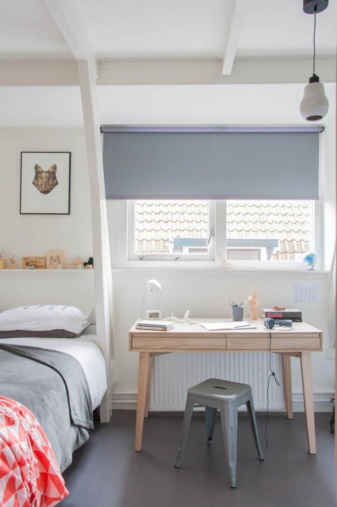 Habitaciones juveniles en gris decopeques for Dormitorio gris