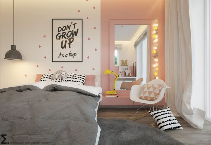 Dormitorios para j venes y adolescentes decopeques for Habitaciones para ninas y adolescentes