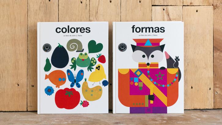 Libros para niños: El mundo es de formas y colores