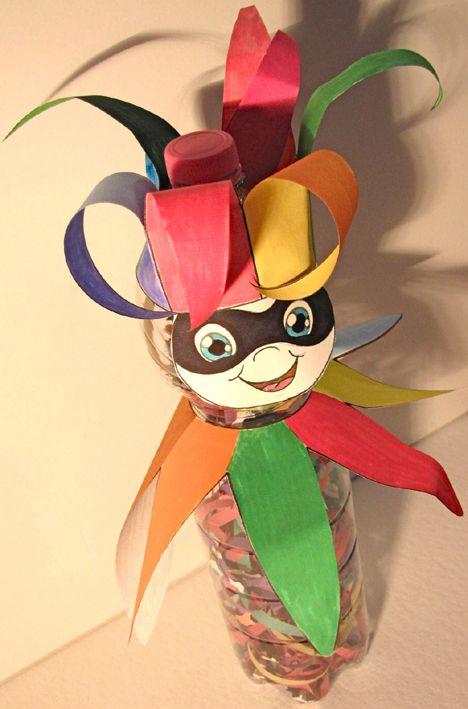 manualidad-carnaval-botella-mascara