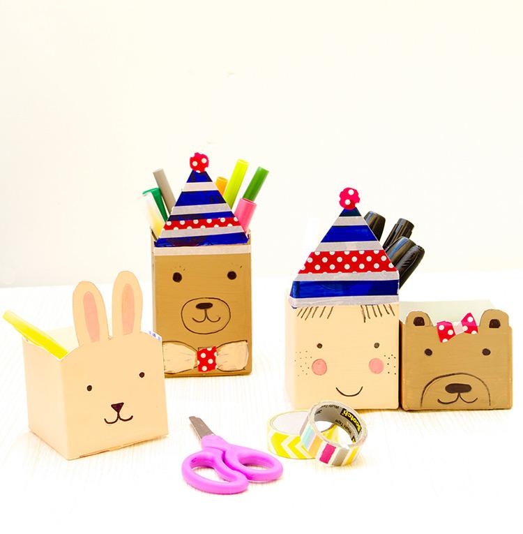 Manualidades con cosas recicladas para niños