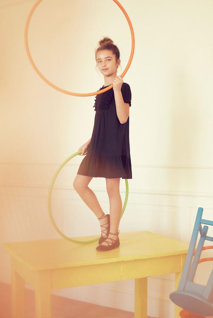 moda-infantil-mango-kids-primavera-verano-2016-vestido-azul-marino