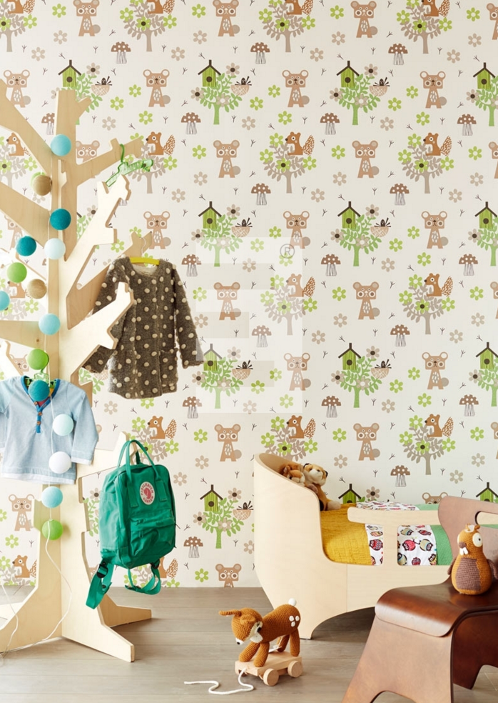 papel-pintado-animales-bosque