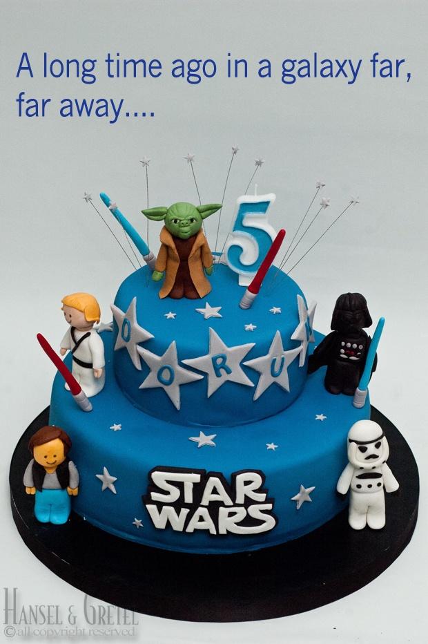 7 Tartas de cumpleaños Star Wars | DecoPeques