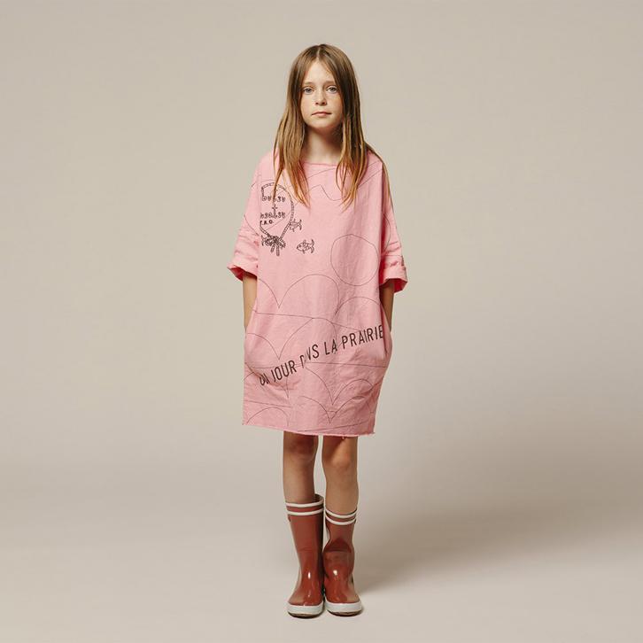 smallable-vestido-un-dia-en-la-pradera-jirafa-rosa