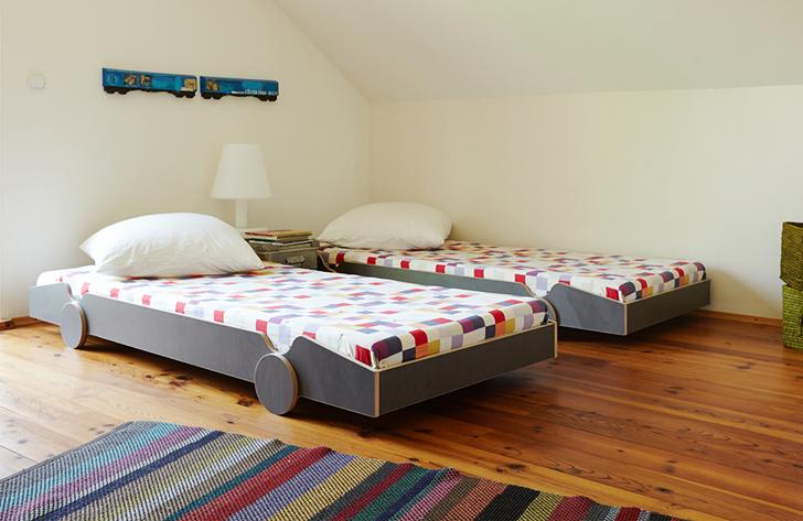 Speedoletto la cama con ruedas decopeques - Cama para ninos pequenos ...