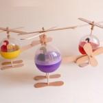 Manualidades para Niños: Helicópteros DIY