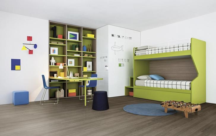mobiliario-infantil-nidi-habitacion-verde