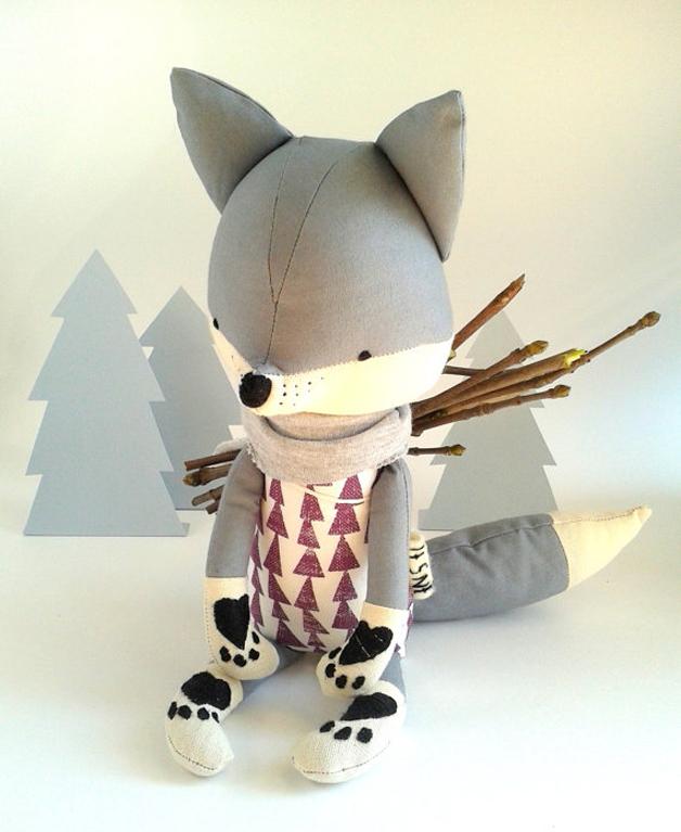muñecos-suaves-zorro-leñador