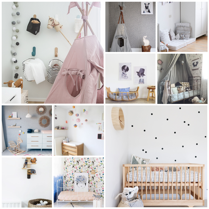 10 ideas para copiar en la habitaci n del beb decopeques for Como decorar una pieza