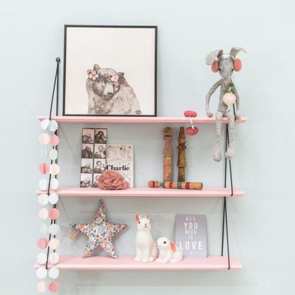 estanterias-habitacion-infantil-rosa