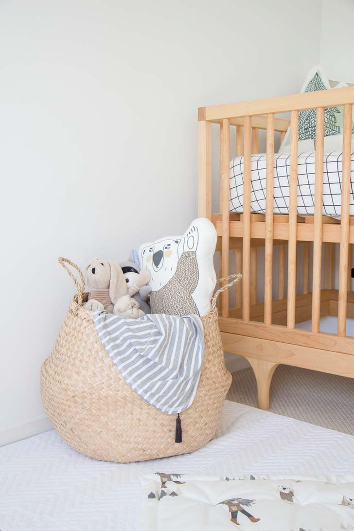 Habitaci n de beb en estilo escandinavo y natural for Habitacion infantil estilo nordico