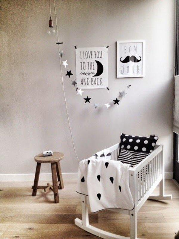 habitacion-infantil-gris-toques-madera