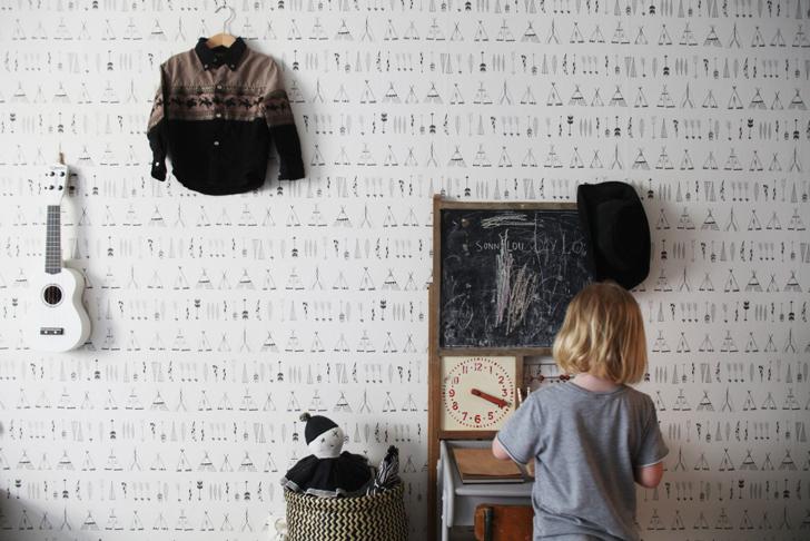 habitacion-infantil-papel-pintado-tipis