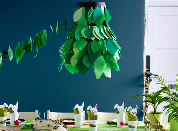 DIY de Ikea para una fiesta infantil ¡en la selva!