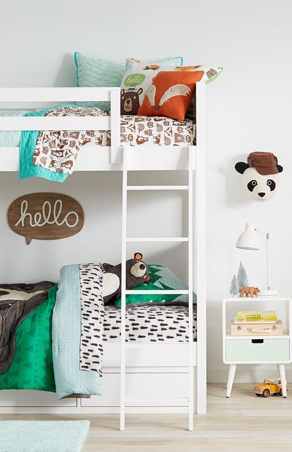 Ideas Originales: ¡Un camping en el cuarto infantil!