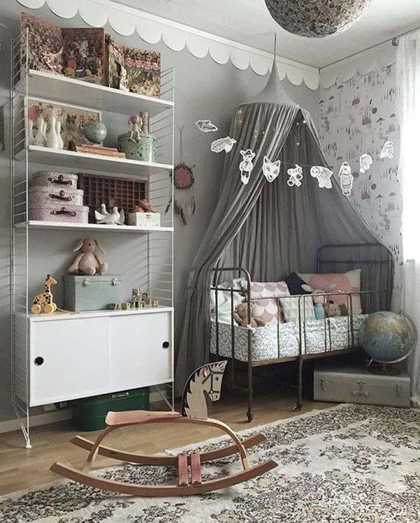 dosel-habitacion-bebe-estilo-vintage