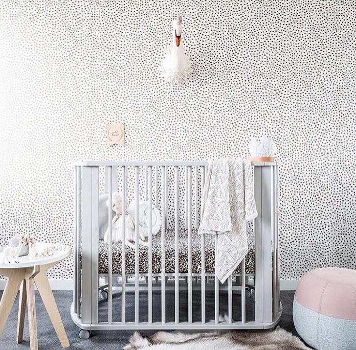 Dormitorios de beb en instagram hellolittlebirdie - Papeles pintados bebe ...