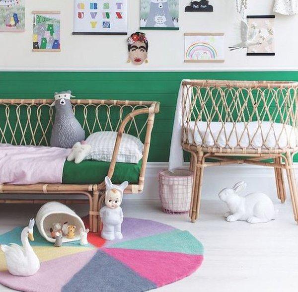 habitacion-bebe-paredes-verdes