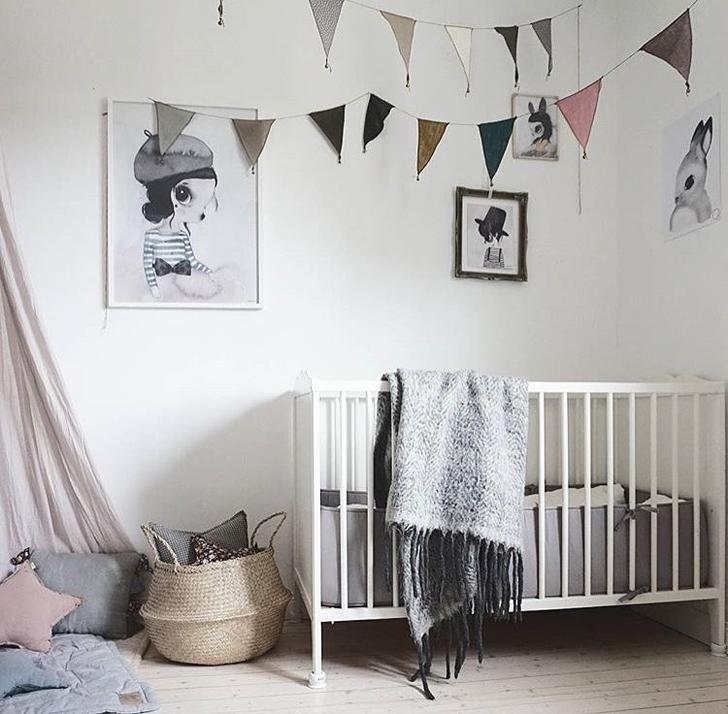 Dormitorios de beb en instagram hellolittlebirdie - Iluminacion habitacion bebe ...