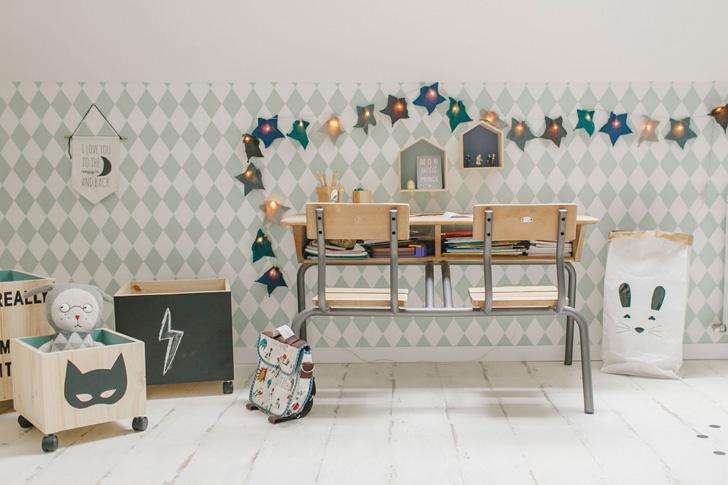 habitacion-infantil-azul-escritori