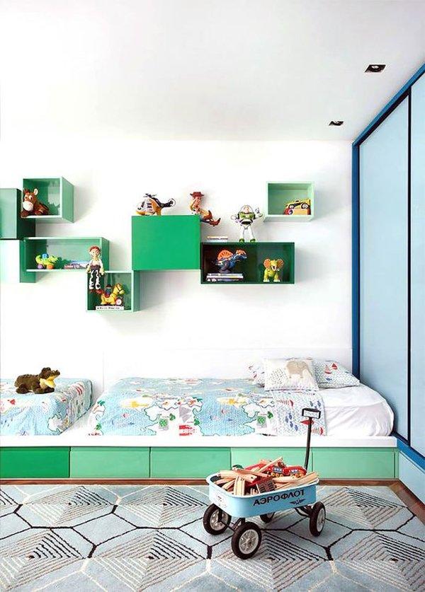 habitacion-infantil-color-verde