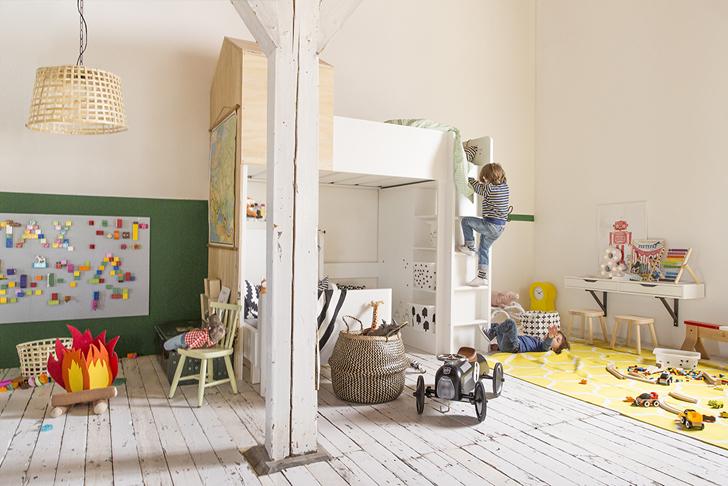 Inspiración Ikea: Increíble Habitación infantil compartida