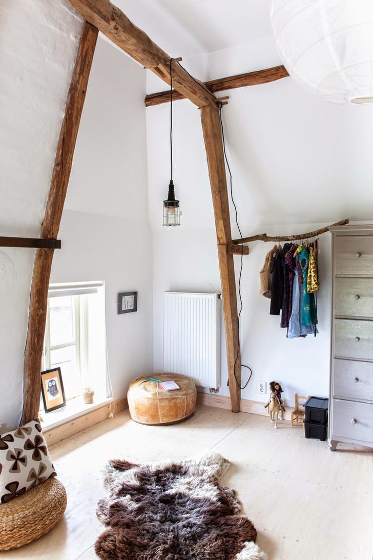 habitacion-infantil-natural-vigas-madera