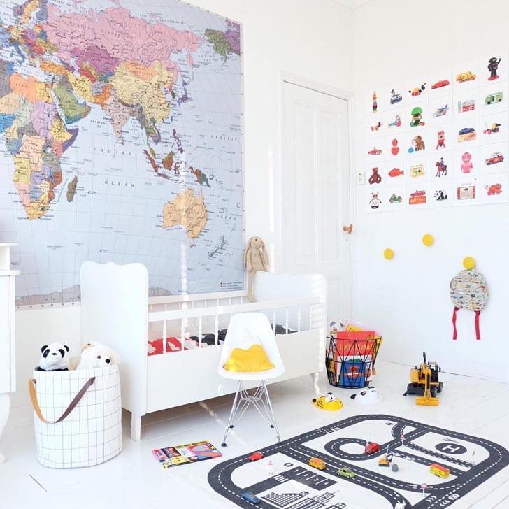 Dormitorios infantiles bonitos en instagram: @bea_kroeze