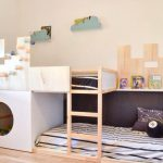 Ikea Hack, la cama Kura se convierte en castillo