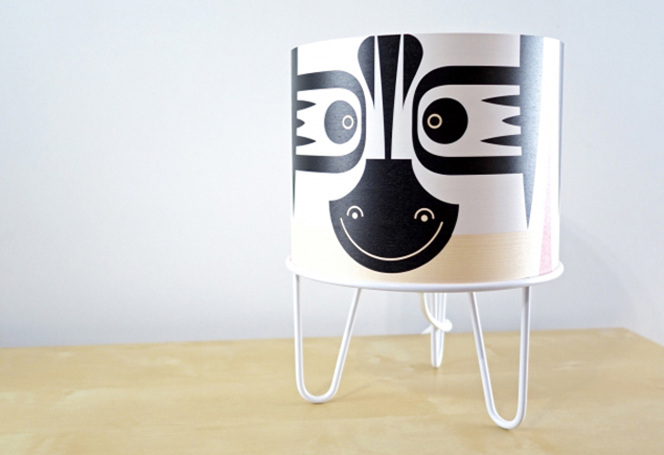 lampara-infantil-diseño-animales-cebra