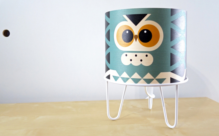lampara-infantil-diseño-buho