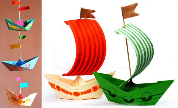 manualidades-infantiles-barcos-origami