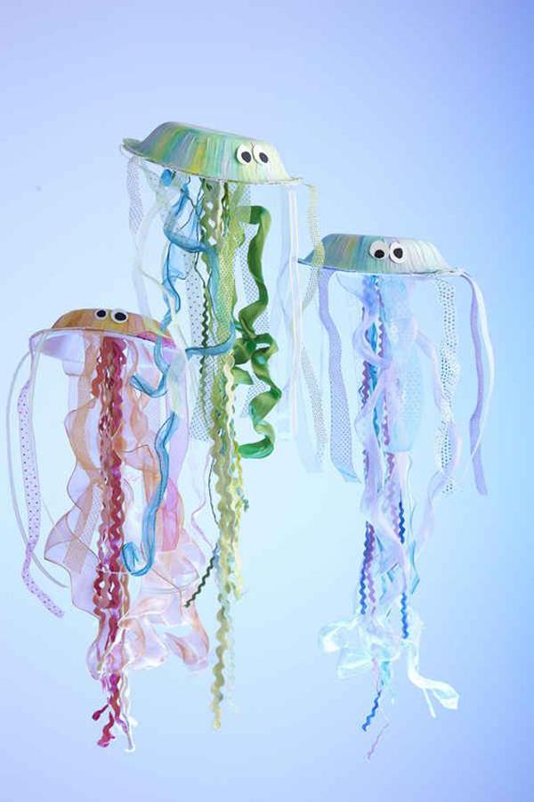 manualidades-infantiles-platos-medusas
