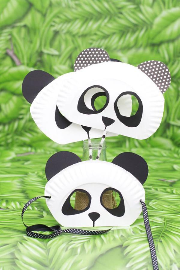 manualidades-infantiles-platos-panda
