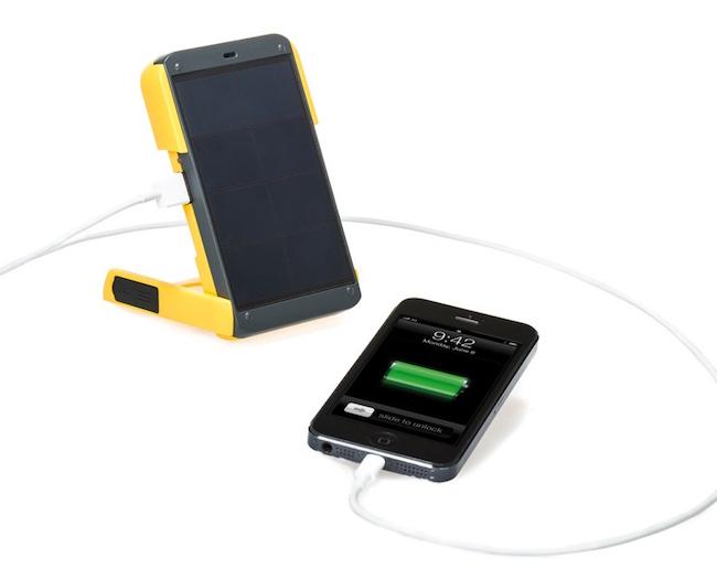 Cargador solar para el móvil