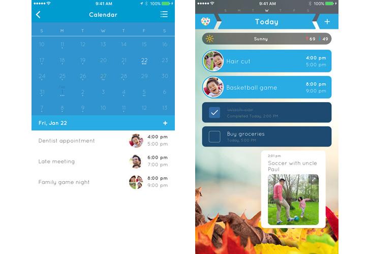 App para organizar actividades en familia