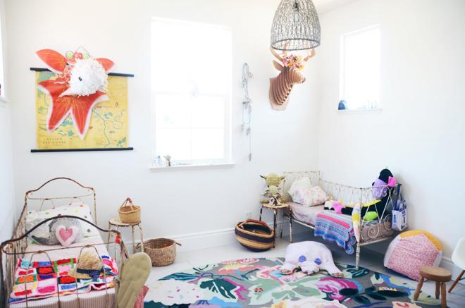 habitacion-infantil-compartida-colorida