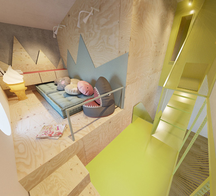 habitacion-infantil-de-diseño-zona-secreta