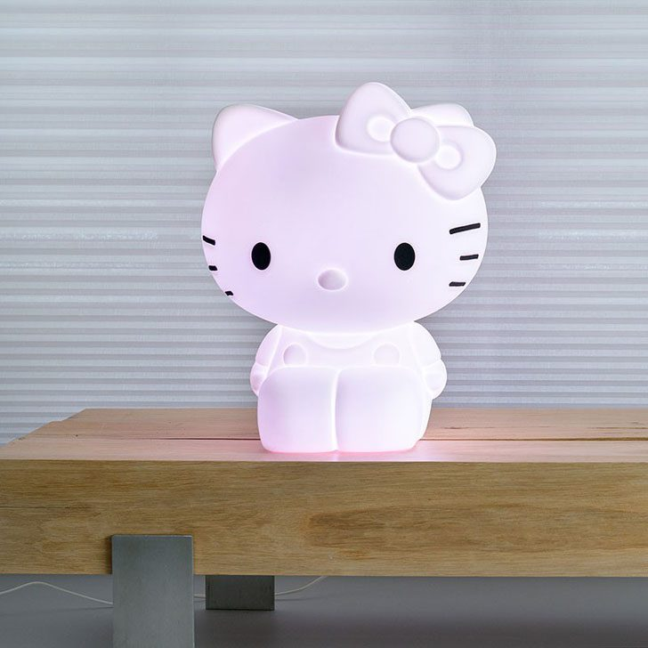 lampara-infantil-hello-kitty-blanco