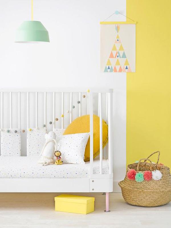 5 formas originales de renovar las paredes del cuarto infantil