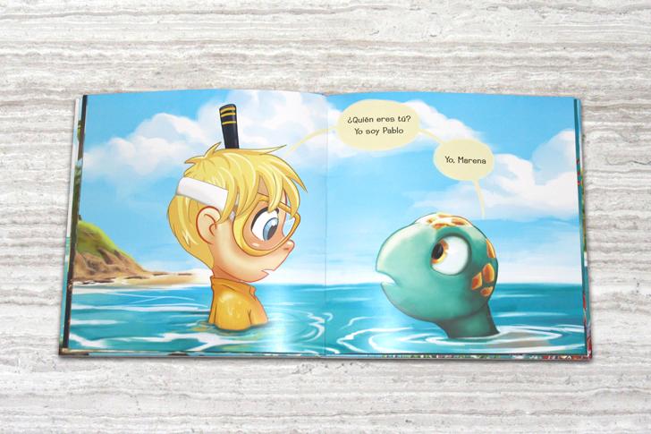 """""""Burbujas"""", nuevo cuento personalizado para niños"""