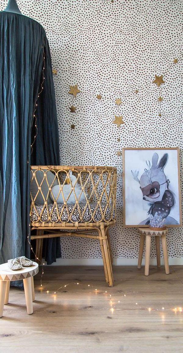 4 Nuevas ideas para decorar con cunas de mimbre