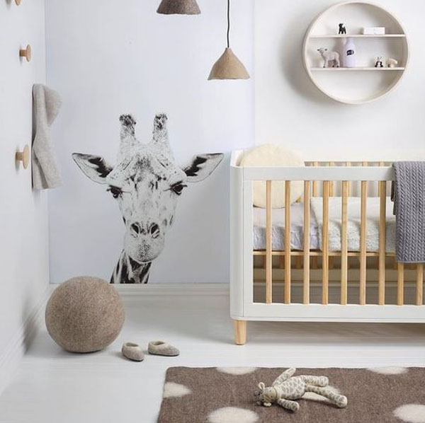 4 Cunas en madera natural y color blanco ¡muy cool! | DecoPeques