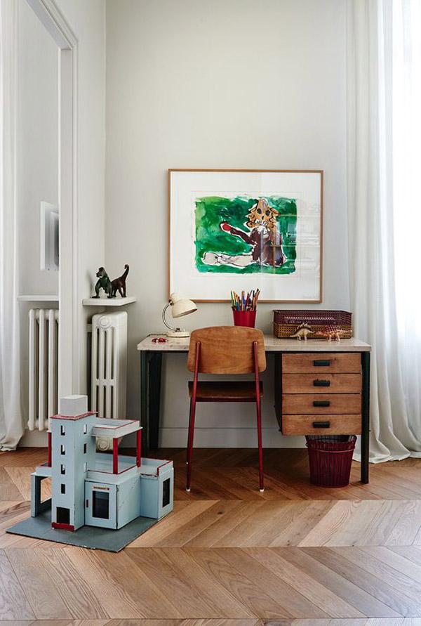 escritorios de estilo vintage para nios