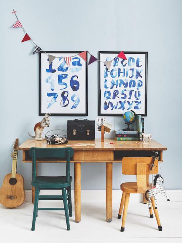 escritorios-infantiles-compartidos-vintage